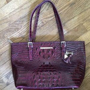 Purple medium tote